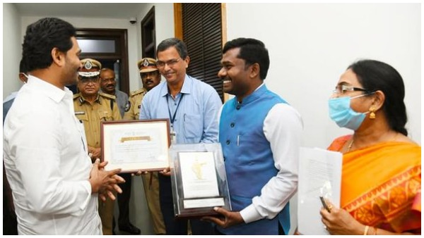 cm-jagan-appreciate-anantapur-collector-gandham-chandrudu-for-pm-kisan-award