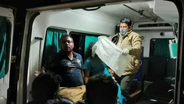 A tourist bus accident in Araku in visakhapatnam district