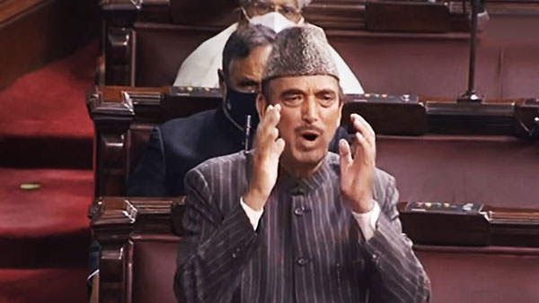 i feel proud to be Hindustani Muslim Ghulam Nabi Azad emotional speech in rajya sabha