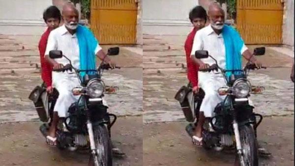 viral video: ఈ నేతను గుర్తుపట్టారా? -ఒకప్పుడు చక్రం తిప్పి -ఇప్పుడు సాధారణ వ్యక్తిలా మోపెడ్పై..