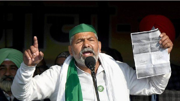 March To Parliament with 40 lakh tractors Farmers Leader Rakesh Tikait warns central govt