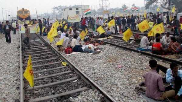 Protesting farmers announce 4-hour nationwide rail roko on February 18