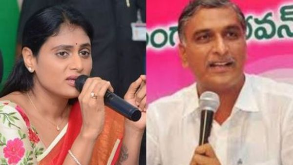 Minister Harish Rao indirect remarks on YS Sharmilas new party