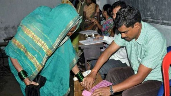 ap panchayat elections 2021 phase 2 polling started in villages