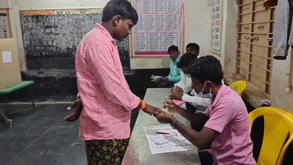 4th phase AP Panchayats elections Voting underway across the State