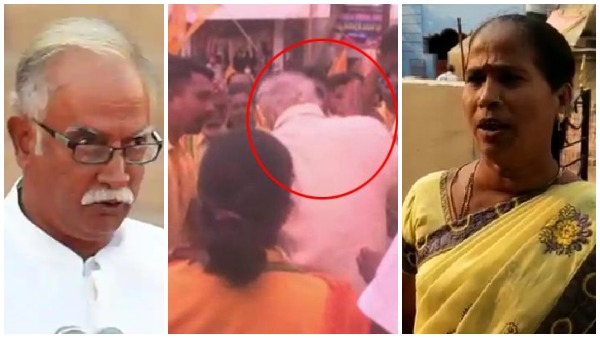 viral video:అశోక్ సారు కొట్టలేదు -మంటల నుంచి కాపాడారు -టీడీపీ మహిళా కార్యకర్త వివరణ