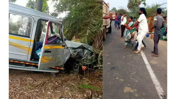3 agriculture labourers killed, 7 injured in road accident in Warangal Rural