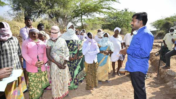Anantapur: Nobody shall be denied from work under NREGA: Gandham Chandrudu