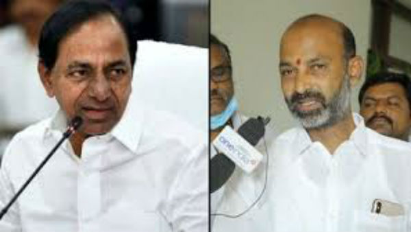Bandi Sanjay warning to KCR .. You will go to jail defenitely
