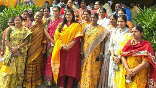 tdp announces mp kesineni nanis daughter swetha as mayor candidate for vijayawada