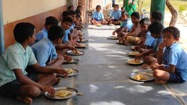 Municipal School In Pune Receives Cattle Feed As Mid-Day Meal To Be Served To Students