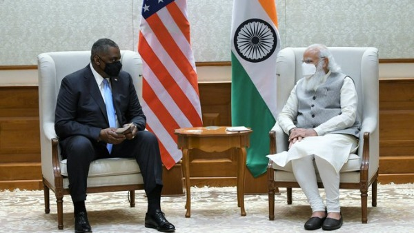 committed to our strategic partnership PM Modi tweets after meet with US defence secretary Lloyd Austin