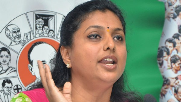 YSRCP MLA and APIIC Chairperson Roja admitted in Hospital at Chennai