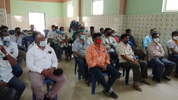 Tirupati: Andhra Pradesh Government BC caste and Gold Smith training classes in Chittoor District.