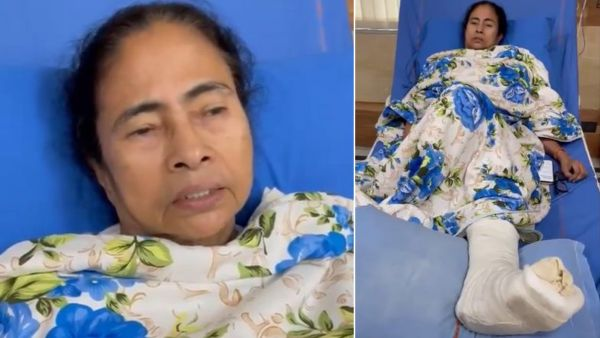 mamata banerjee video message from hospital urges party workers to maintain peace