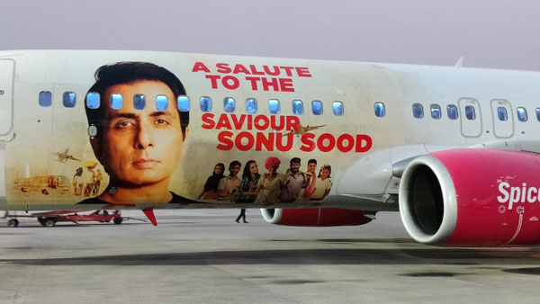 SpiceJet honours Sonu Sood with special aircraft livery, actor remembers an Unreserved journey