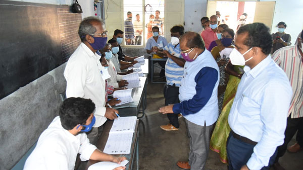 Andhra Pradesh Municipal Elections 2021: ysrcp took huge leads in postal ballots count