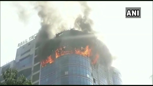 Fire breaks out at Mumbais Vashi area multi-storey building
