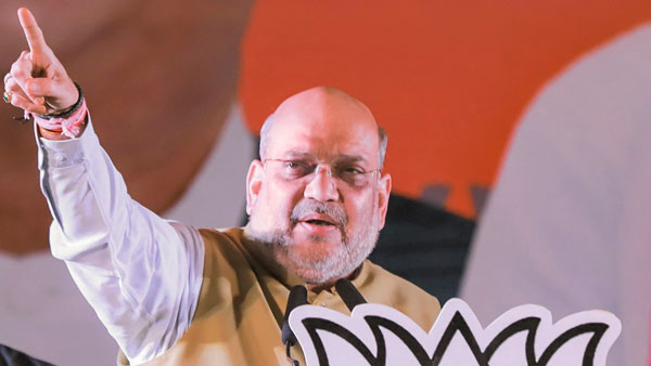 Didi Demoralised, BJP ahead on 122 seats after five phases says Amit Shah in bengal rally
