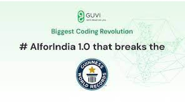 GUVI's FREE online workshop on coding is all set to create a Guinness World Record on April 24 and 25