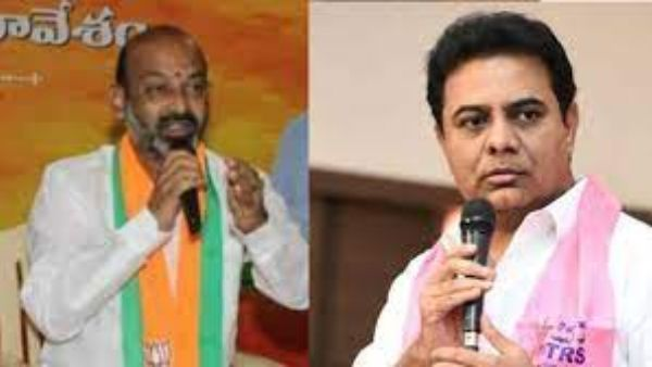 BJP leaders' meeting with KTR .. Bhagyumantunna Bandi Sanjay .. How do you meet without the knowledge of the President ..?     bandi sanjay serious on party leaders meet with ktr and appointed committee to find who is behind them