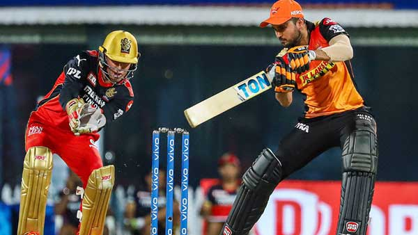 IPL 2020: Is Manish Pandey a boon or bane for SRH as the team looses when he scores 30plus runs