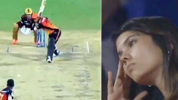 IPL 2020: మనీష్ పాండే ఔటయ్యాక సన్రైజర్స్ ఓనర్ కావ్యా ఎలా రియాక్ట్ అయ్యిందో చూడండి..!