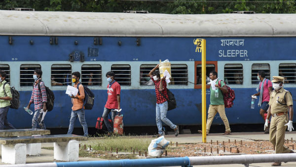 railways to fine rs.500 for not wearing mask in trains and at railway station premises