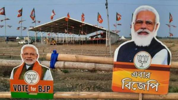 bengal polls: EC bans roadshows due to Covid surge, PM Modi to virtually address rallies