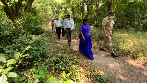 Thrilling and Unique Experience visiting to Urban Forest , says Puducherry LG