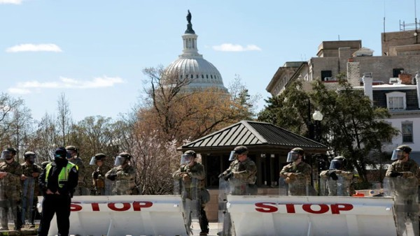 US Capitol On Lockdown After Vehicle Rams 2 Officials, 1 Dead