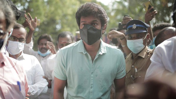 viral video: Actor Vijay cycles to polling station in Chennai, police lathicharge frenzied fans
