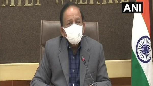 Covid-19 surge:union minister Harsh Vardhan to chair meeting with state health ministers on Tuesday