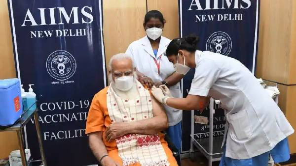 PM Modi receives second dose of COVID-19 vaccine, says 'get your shot soon'