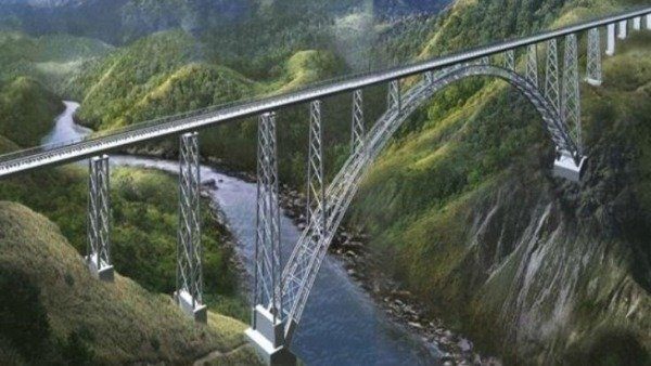 Arch of world's highest rail bridge on Chenab river completed