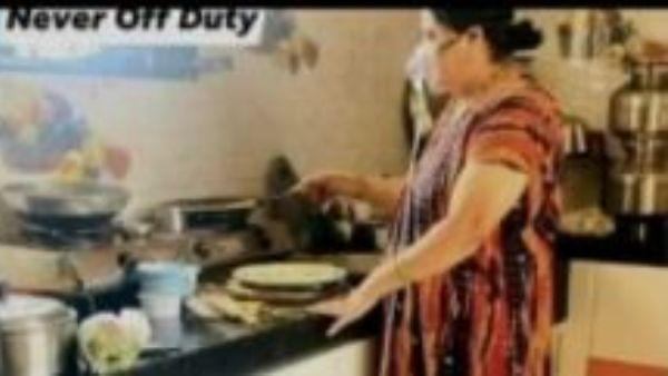 అమ్మ మీకు వందనం: ఆక్సిజన్ మాస్క్ ధరించి మరీ వంట, సహనానికి నెటిజన్ల సెల్యూట్