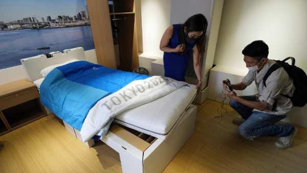 Tokyo Olympics 2021: ఉత్తుత్తి మంచాలు: సెక్స్లో పాల్గొంటే నడుములు విరుగుతాయ్