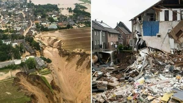 germany floods: నిద్రలోనే జలసమాధి -యూరప్ జలవిలయంలో150 మంది మృతి, 1500 మంది గల్లంతు
