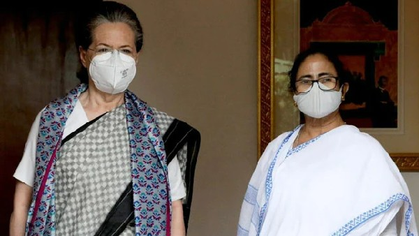Mamata meets Sonia: కలిసి పోరాడుదాం, మోదీ-బీజేపీని కూల్చేద్దాం -గాంధీలతో మమత చాయ్ పే చర్చ