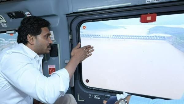 పోలవరంలో జగన్ ఏరియల్ వ్యూ-టార్గెట్ 2023 ఖరీఫ్- త్వరలో ప్రత్యేకాధికారులు