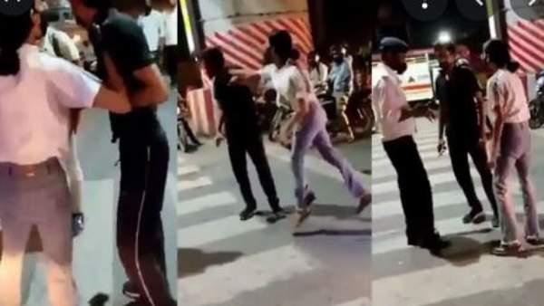 Viral Video: నడిరోడ్డుపై.. క్యాబ్ డ్రైవర్ను ఓ రేంజ్లో కొట్టిన యువతి.. బిత్తరపోయిన పబ్లిక్