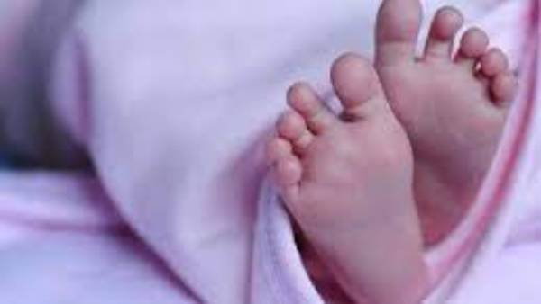 Bhadradri Kothagudem baby died after biting around his belly in the name of healing stomachache