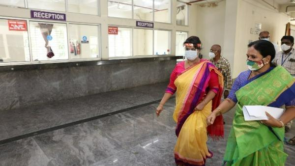 Tirupati: కోవిడ్ కేర్ సెంటర్లలో జేఈవో భార్గవి ఆకస్మిక తనిఖీలు, అవసరానికి మించి సిబ్బంది, ఆరా !