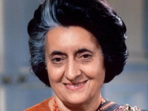 Miscreants In Uttar Pradesh Covered Indira Gandhi S Statue With Burqa