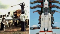 Bullock Cart To Moon Netizens Share Vintage Photos Of Isros Previous Space Missions