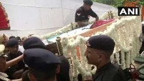 Arun Jaitley Cremated With State Honours At Nigambodh Ghat