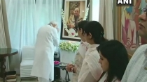 Prime Minister Narendra Modi Pay Tributes To Arun Jaitley At House