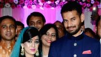 Tej Pratap S Wife Aishwarya Rai Leaves Rabri Devi S Home Teary Eyed