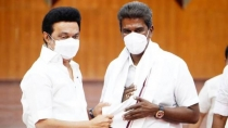 Tamil Nadu Cm Stalin And Udhaynidhi Stalin Meets Newly Joined Mahendran Alone Yesterday To Talk On