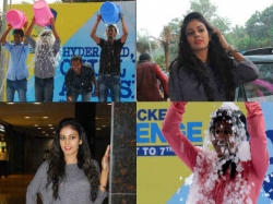Ice Bucket Challenge At Manjeera Mall Kukatpally